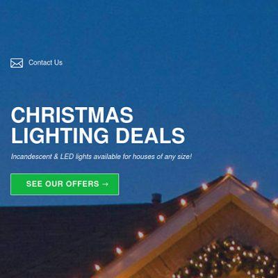 Christmas Lights Offer